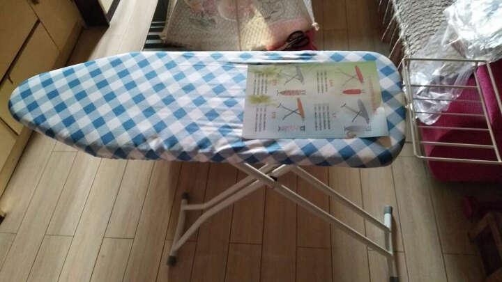 烫衣板熨衣板折叠熨烫板 加强版 蓝底茶花大号 晒单图