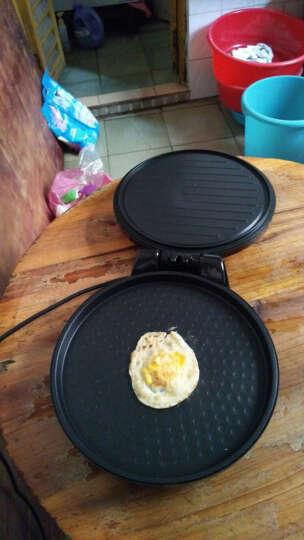 Midea/美的 电饼铛智能煎烤机蛋糕烙饼机 粉色款可拆洗 多功能煎烤机家用双面加热大烤盘 粉红色  可拆洗款 晒单图
