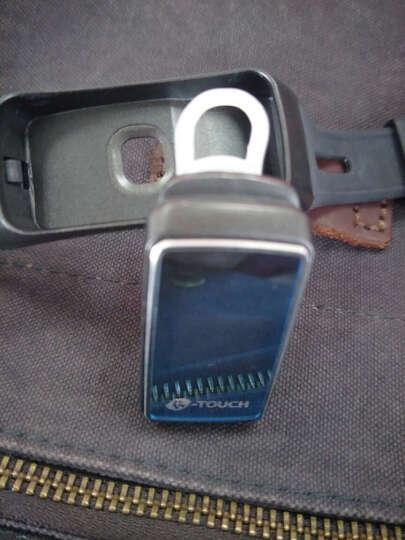 智能手环蓝牙耳机可通话运动计步防水男女测心率健康监测手表华为OPPO苹果VIVO 金色 晒单图