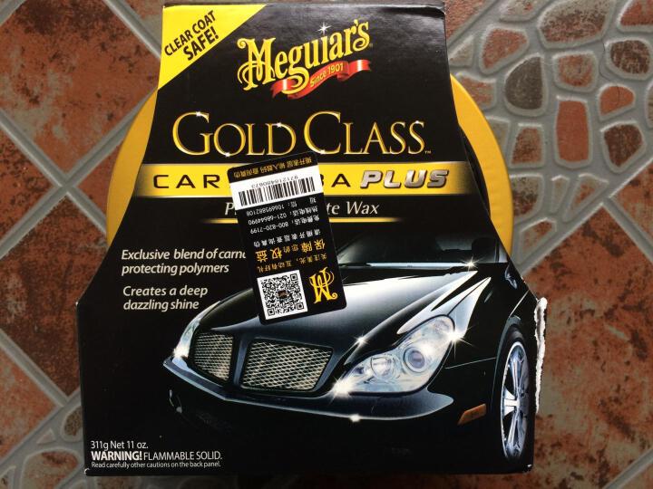 美光(Meguiar's) 汽车美容清洗金装水晶棕榈蜡王进口车蜡新车蜡打蜡镀膜划痕防护G7014AM 晒单图