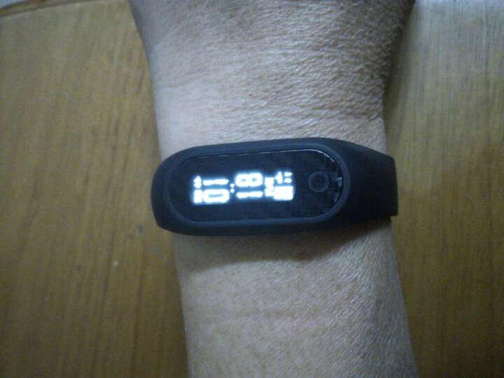 博之轮(BOZLUN)手表 学生运动电子表男女款潮流时尚手表智能手环防水防丢血压心率手环智能兼容 白色-心率血压心率版 晒单图