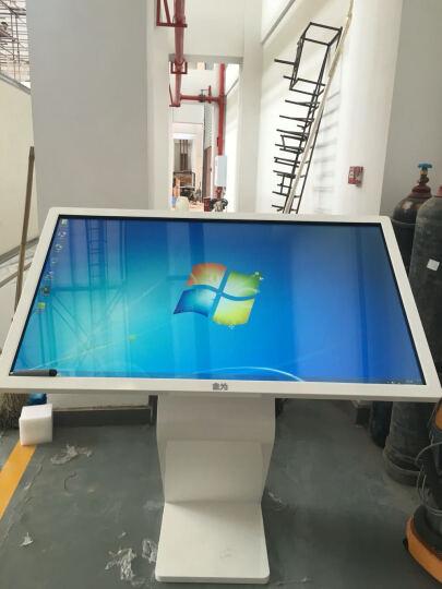 金为 55英寸触控显示屏智能触摸查询 广告机 交互式高清LED触摸液晶屏触摸显示器 I3版触控一体机 晒单图