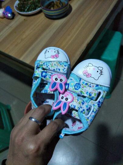 LOVEBBF 2017冬季新款 婴儿学步鞋 宝宝加绒雪地靴 新生儿0-1-3岁保暖棉鞋 X26桃红 适合脚长14cm左右 晒单图