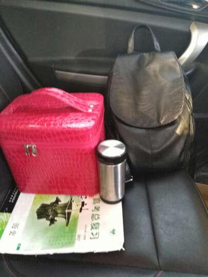 缔家乐大号化妆箱女化妆包收纳箱手提包时尚女包户外旅行洗漱包化妆盒储物整理箱盒 防水F款  藏青 晒单图