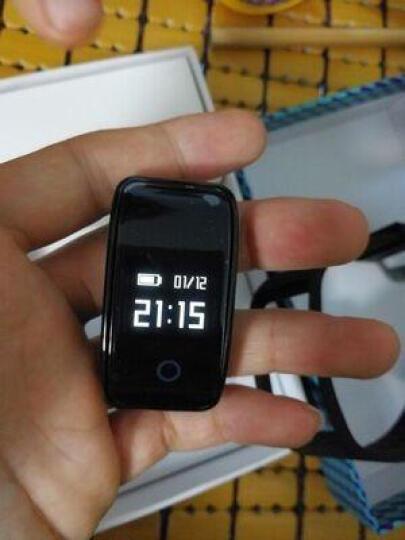 Wtitech A59智能手环 男女运动记步腕带睡眠检测血氧心率血压穿戴腕表 黑色(心率+血压+血氧+疲劳度) 晒单图