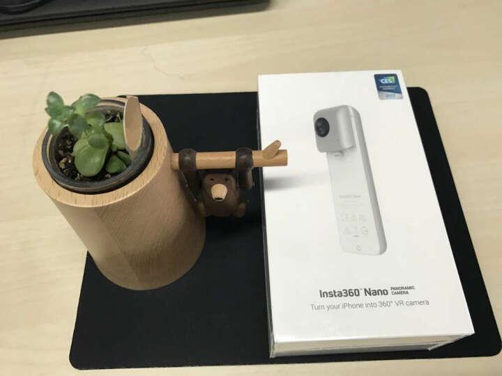 Insta360 Nano S全景相机 Nano Air 高清摄像机智能运动直播微博全景 Nano S黑色 晒单图