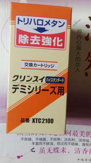 可菱水(CLEANSUI) 三菱净水器配件家用直饮过滤芯XTC2100适用于CT753 XTC2100(1支) 晒单图