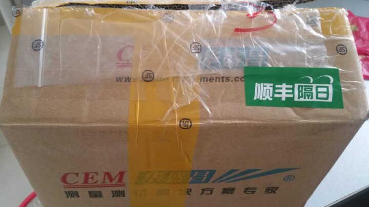 华盛昌(CEM)PM2.5PM10空气质量粉尘颗粒物检测仪探测器DT-96 晒单图