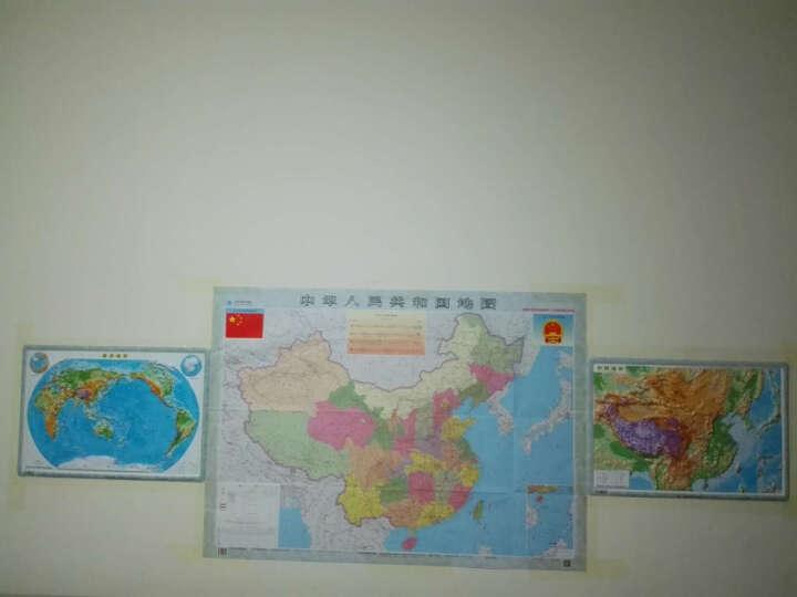 星球中国地形立体地图 54厘米*37厘米 4开三维立体凹凸地形图 晒单图