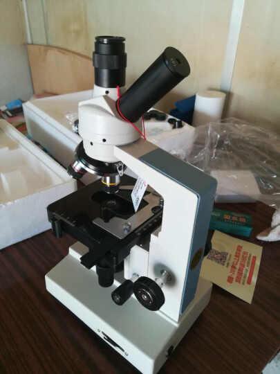 江西凤凰生物显微镜XSP-35TV 儿童学生科普教学 养殖场宠物用 套餐6=标配+凤凰CCD摄像机(可接电视) 晒单图