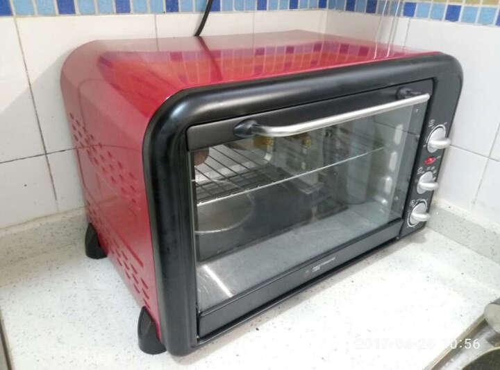 红蕃茄(REDTOMATO) HK-3001RF电烤箱家用烘焙多功能 特价 晒单图
