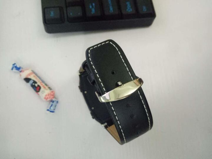 【电信版】KEKE老人电话手表智能手表手机定位手表心率监测语音通话防丢手环跟踪器运动记步器 心率检测款-黑色 晒单图