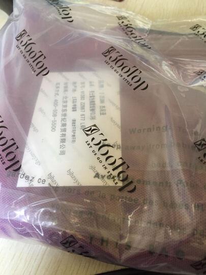 Z ZEGNA 杰尼亚 男士紫色棉质短袖POLO衫 VI383 ZZ667 677 L码 晒单图