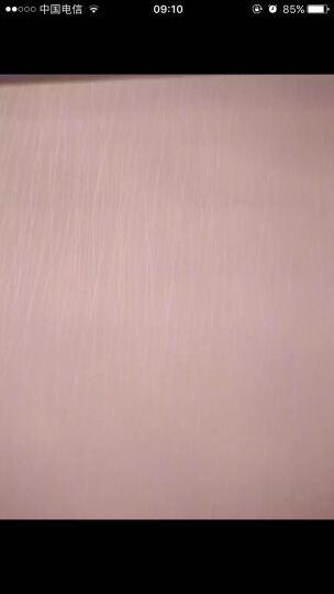 格罗斯曼 简约波浪条纹纯色素色无纺布墙纸客厅卧室沙发电视背景墙壁纸 A款.粉红色 晒单图