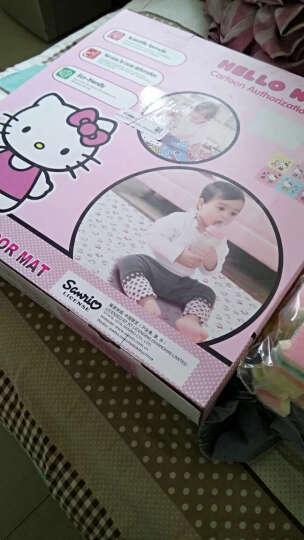 明德 爬爬垫 白色Hellokitty 拼图地垫PE环保拼接垫儿童游戏毯宝宝爬行垫30*30*1cm(6片装) 晒单图