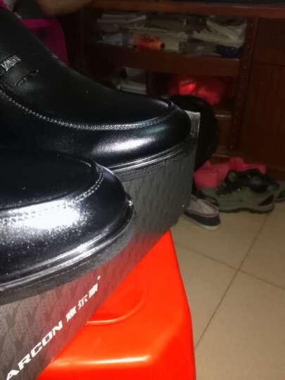 意尔康皮鞋经典商务休闲男鞋日常舒适套脚单鞋S541AE73153W黑色38 晒单图