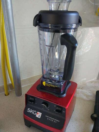 SKG料理机破壁机多功能榨汁机1246 红色 晒单图