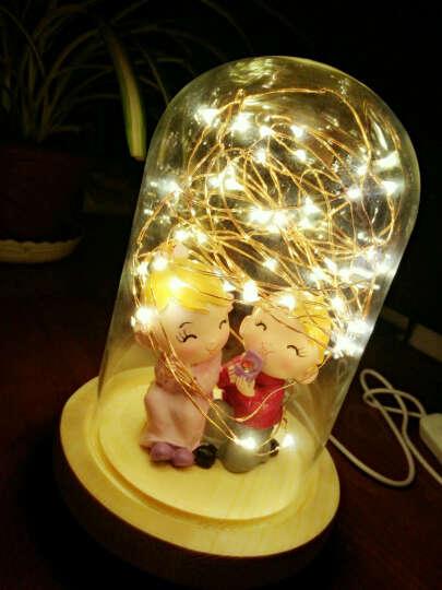 金火把 七夕情人节礼物diy生日礼物女生浪漫实用送男女朋友LED创意礼品小夜灯 我爱你 晒单图