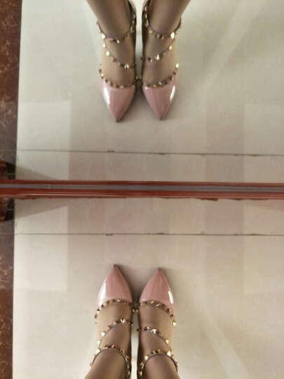 歌山品悦     2017夏季新款时尚优雅凉鞋韩版舒适高跟凉鞋女 白色 37 晒单图