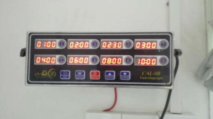 商用厨房定时提醒器 按键版 八通道倒计时器8段 晒单图