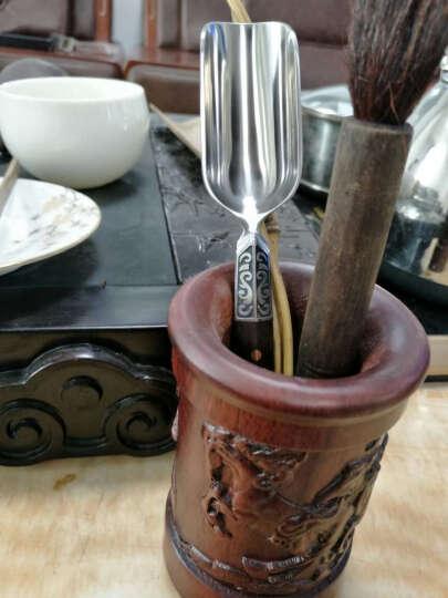 陶瓷故事大马士革茶则茶勺茶铲功夫茶具配件 不锈钢茶匙 晒单图