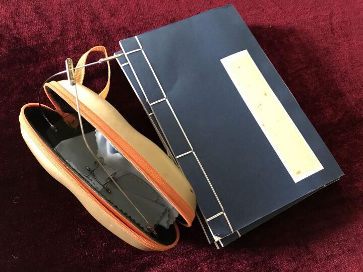沁凌斋 宣纸红八行印谱 手工宣纸信笺本 硬笔毛笔 小楷书法线装本空白笺谱 小号灰框印谱 晒单图