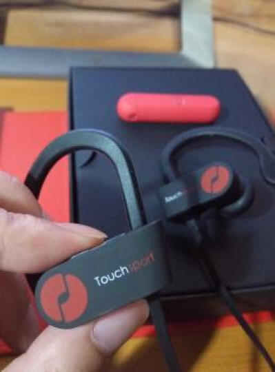 击音(iGene)Touch Sport 触控级降噪运动防水蓝牙耳机男女分款挂耳式跑步健身4.1无线HIFI  黑色-女 晒单图