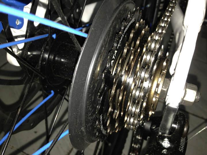 官方凤凰(Phoenix) 变速山地自行车男女 成人户外越野赛车公路单车学生少年JC01 26寸21速 白蓝铝合金车架 舒适JC01 晒单图