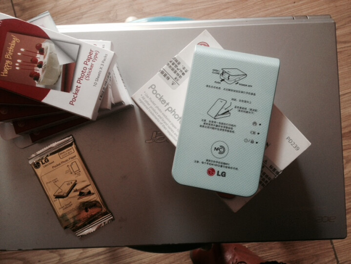 LG趣拍得 POPO相印机 手机便携相片打印机 手机照片拍立得 PD269SF LINE FRIENDS特别版 晒单图