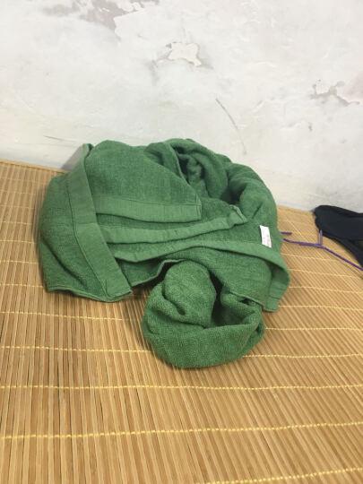 双人余 配发07毛巾被军训被军绿棉毛毯 春秋 海款毛巾被 晒单图