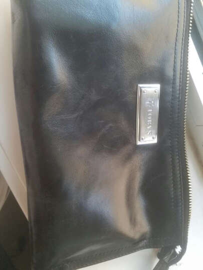 托比斯(TOBYS)男士手包牛皮手抓包 男士商务夹包手拿包钱包大容量软牛皮潮 巧克力色 晒单图