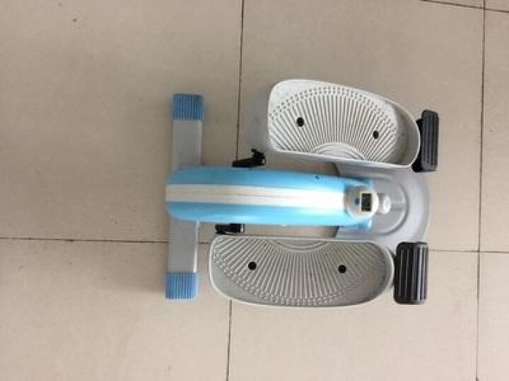 斯诺德(SiNuoDe) 智能踏步机 家用静音迷你椭圆机扶手脚踏机减肥瘦身健身器材 升级豪华款Q7-白色 晒单图