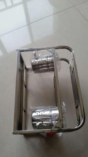 乐陶陶 304不锈钢刀架砧板架厨房置物架收纳架厨房用品筷子筒 SD023E 晒单图