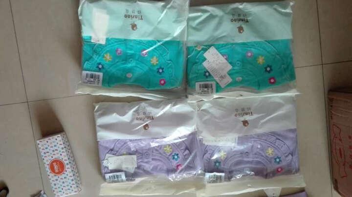 纤丝鸟(TINSINO)童装儿童新款男童女童抓绒卫衣开衫外套THY0533439N7 四色小花 淡紫 80 晒单图