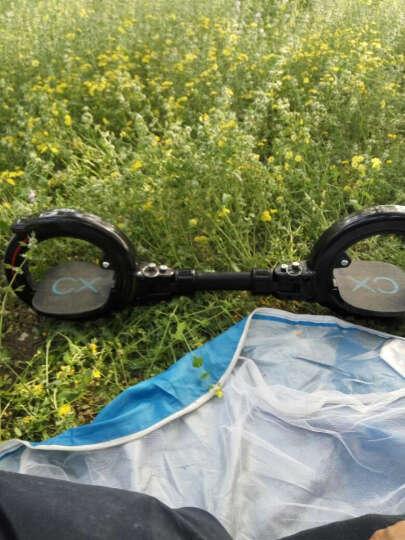 CX滑板车 X8滑板车风火轮漂移脚踏板平衡车折叠车10岁-成人代步车 二代黑魅x8 晒单图