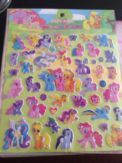 阳光男孩 儿童贴纸立体卡通贴纸PVC材质卡通动物人物粘贴画 甜品店(长29.5) 晒单图