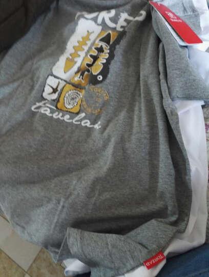 探路者(TOREAD)速干t恤 男女春夏新款情侣款户外透气吸汗短袖t恤 速干 TAJF81937 明灰XL 晒单图