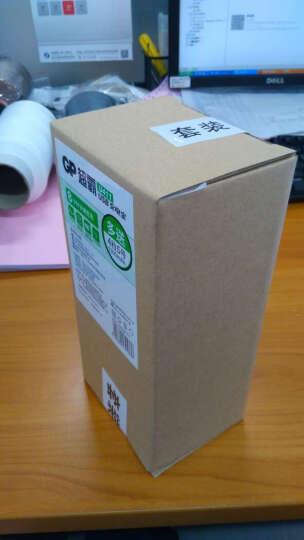 超霸(GP)GPU421USB200-2IL4 可充5号7号电话遥控器相机玩具体重秤血压仪USB充电器2000毫安充电电池4节装AA 晒单图