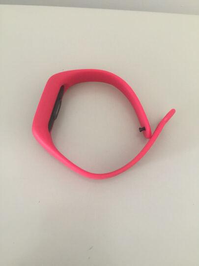 BIAZE 小米手环2代替换腕带 智能运动手环炫彩腕带 中国红 晒单图