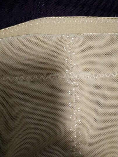 纤姿蓓 【2件装】女士收腹裤 高腰美体塑身裤 产后无痕女士内裤LS11-2 黑色 2条装 M 晒单图