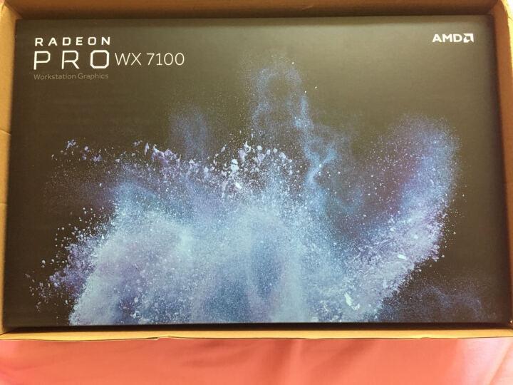 专业显卡 AMD原厂盒装 Radeon pro WX7100 4DP/8G 晒单图