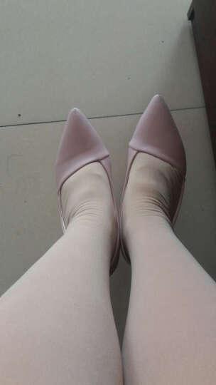 范思蒙 春夏季新款时尚甜美百搭高跟鞋女鞋 粉色 37 晒单图