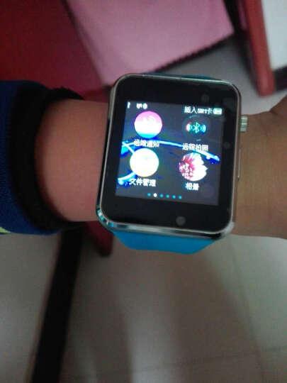 【送32G内存卡】儿童电话手表手机儿童智能手表学生插卡男女款智能触屏定位手表 三代蓝+触屏微聊QQ定位+信号增强+学习APP下载 晒单图