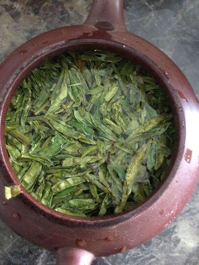 2020新茶上市 狮梅牌龙井茶工艺雨前特级绿茶龙井茶叶壹号老茶树纸包250克 晒单图