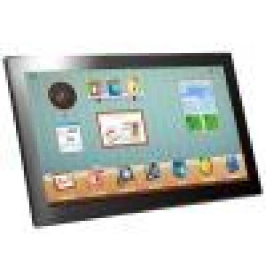 影巨人环境监测云相框15.6/18.5英寸触摸屏数码相框WIFI电子相框甲醛雾霾检测仪 18.5英寸触摸屏版黑色 晒单图
