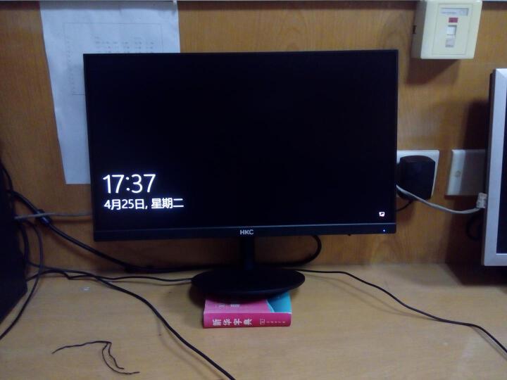 HKC/惠科 21.5英寸 VA面板 黑色 纤薄微边框 挂壁广视角家用 1080p 宽屏 滤蓝光不闪屏 电脑液晶显示器 H220 晒单图