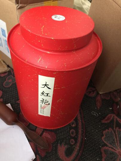 首承白武夷山大红袍岩茶茶叶 陈香红茶炭焙礼盒 罐装浓香散装500g H(正岩2A )500g罐装 晒单图