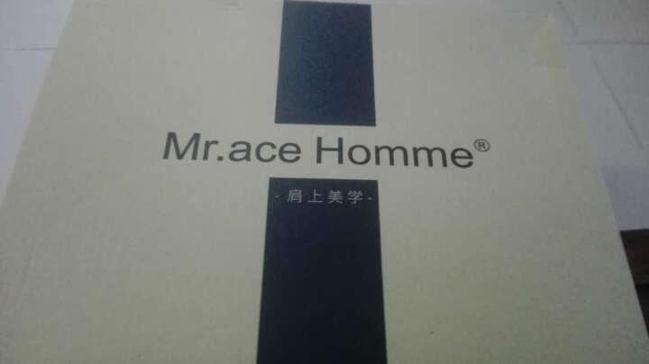 Mr.ace Homme 印花女双肩包背包 新款中学生男女书包韩版潮包 情侣同款背包 白色 晒单图