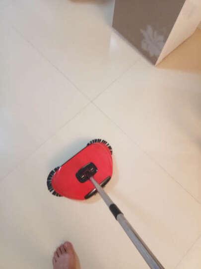 安尚(ANSHANG) 不用电自动手推式扫地机水洗扫地机器人手动吸尘器地板清洁器扫帚 老款草绿色 晒单图