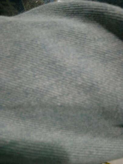 盟特胖妹妹女装韩版风衣长袖牛仔外套 图片色 大码XXXL 晒单图